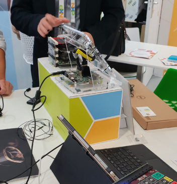 Intelligent Data at Trustech 2018 in Cannes in collaboration with NXP
